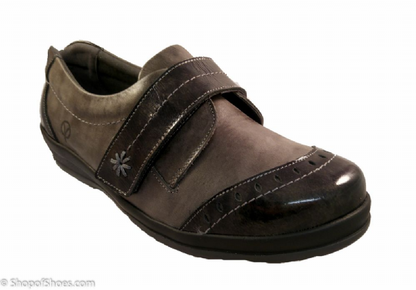Fenwick Ladies Extra Wide easy access velcro Shoe 4E-6E